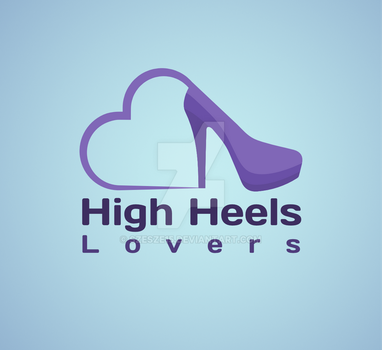 High heels lovers logo by Szesze15