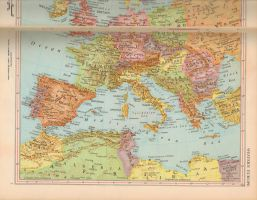Vintage Map Texture 03 by rkStock