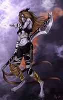 Draenei wow colab colo by Alblade