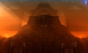 Gnarl2D Alien Temple by Topas2012
