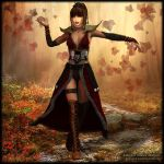 Autumn Fire by Andecaya