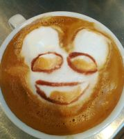deadmau5 latte by HiddenStash