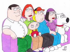 Couch Gag Family Guy by Crash2014