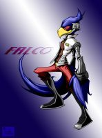 falco with bg by pnutink