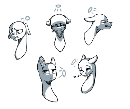Light Source expressions  by OhHoneyBee