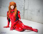 Asuka Langley - Plugsuit by tenleid