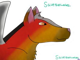 Save The Wolves Redone by xXRandomness05Xx