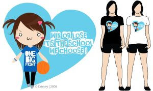 My Own Ateneo Shirt Design by Crissey