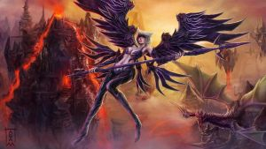 Chaos Angel by saydeblue