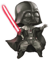 Darth Vader Chibi by linedup