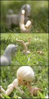 Naked in Nature 2 of 8 by MySweetQueen-Dolls