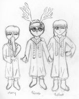 Prongs, The 10th Reindeer by MidnightFlame
