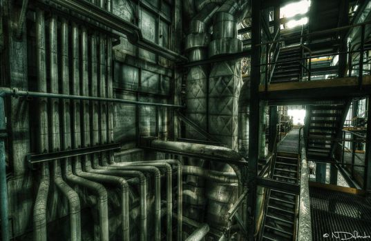 Industrial Cathedral by Nichofsky