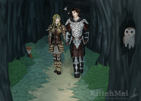 Midnight Stroll [C] by KittehMei