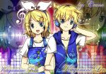 Kagamine LEN-RIN Retro mix edition style. ^^ by cruno