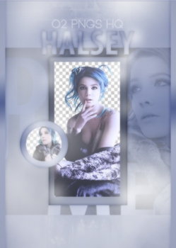 Halsey / Png Pack by dontjudgemebitchess