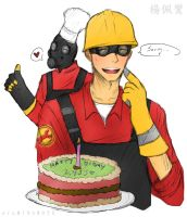__TF2: Happy Birthday Lyss!__ by xCheckmate