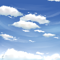 Sky practise by Wendychi