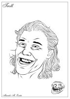 Just4fun - my troll face by MarceloZonta