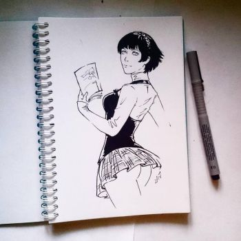 Instaart - Makoto by Candra