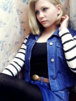 Android 18 by AndroidMiya