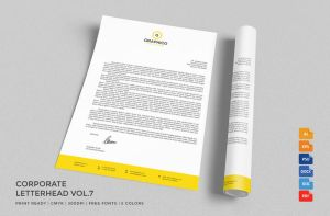 Corporate Letterhead with MS Word by nazdrag