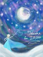 Thanks for 20,000 pageviews by Rasberry-Jam-Heaven