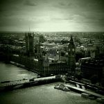 View from London eye by Malleni