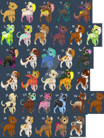 Cheap Dog Adopts (CLOSED) by CassMutt