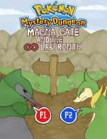 Pokemon Mystery Dungeon Poster One by Salioka-chan