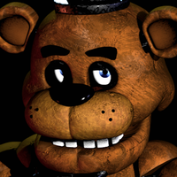 The Five Nights At Freddy's 1 In Game Font by MarcusGamez