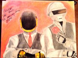 Daft Punk poster by Seigman-Alice