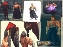 Ryu unuse concept art by monkeygigabuster