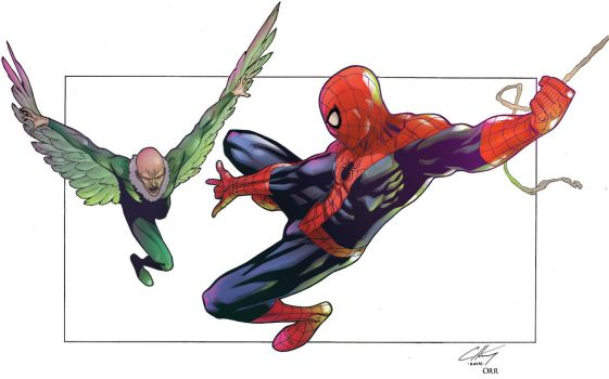 Spiderman Vulture by scroll142