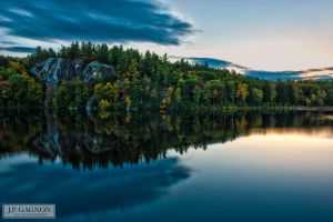 Stonehouse Pond, October, 2014 by JPGagnon
