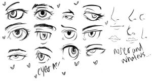 Eyes-Nose-Mouth Practice by ONEIRI