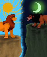 Mufasa vs Scar by XxElectric-SkefaXx