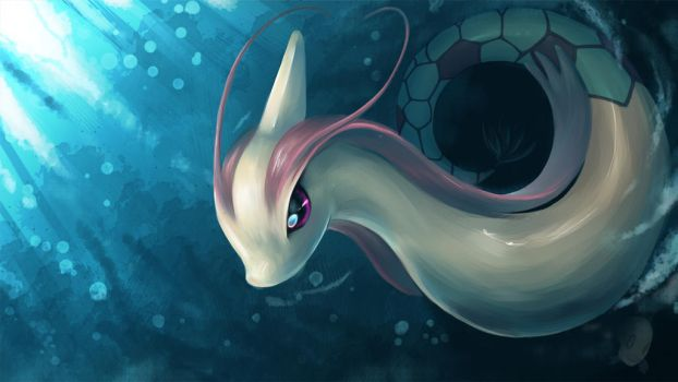 Milotic by Sellue