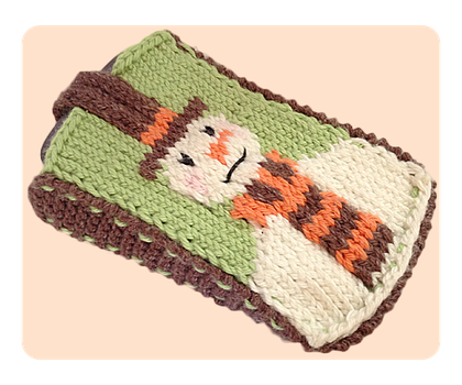 Snowman Mobile Phone Cover by AmareeLis