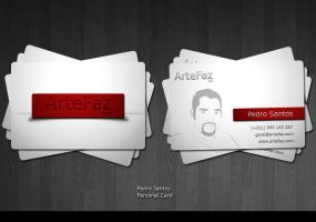 My business card by PeterAxl