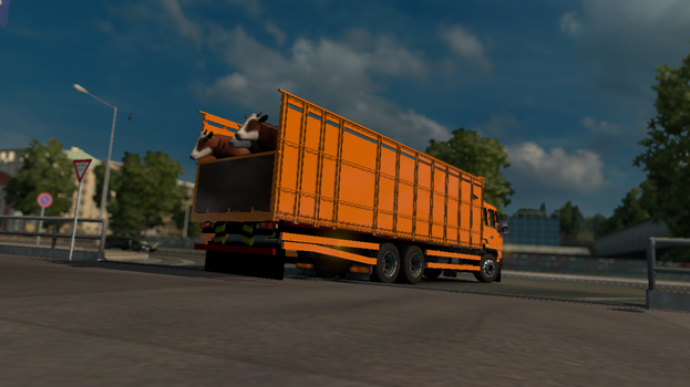 [ETS2]  Indonesian Logistic by smg320