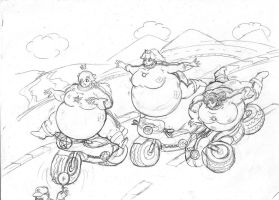 SuperMarioKart Biker Suit Inflation - updated by dwarfpriest