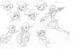 Firiat sketches by fantazyme