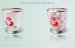 Pink recycle bin by tonev
