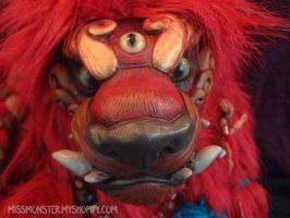 Roi King Foo Dog doll by missmonster