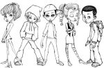 Kid sketch cool down part 2 by ArmaniStyles