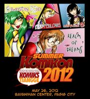 Summer Komikon Ad 2012 by lady-storykeeper