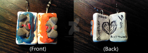 Portal Necklace-- Front and Back by RussianGentleman
