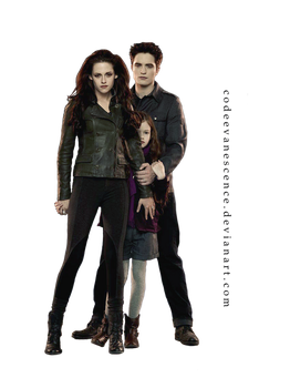 BD2 - Edward, Bella and Renesmee - PNG by codeevanescence