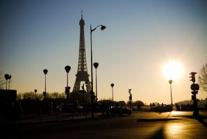 Tour eiffel by spinal123